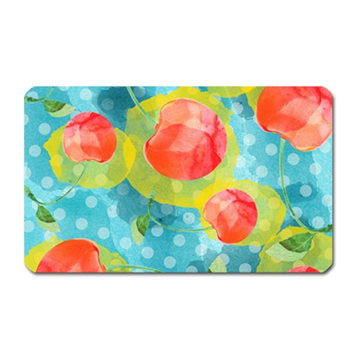 Red Cherries Magnet (Rectangular)