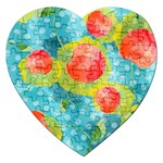 Red Cherries Jigsaw Puzzle (Heart) Front