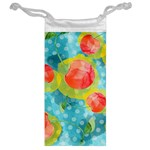 Red Cherries Jewelry Bags Back