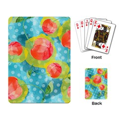 Red Cherries Playing Card by DanaeStudio