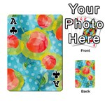 Red Cherries Playing Cards 54 Designs  Front - ClubA