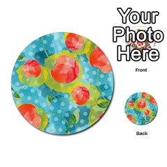 Red Cherries Multi Purpose Cards (round)  by DanaeStudio