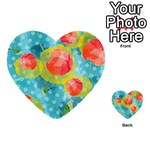 Red Cherries Multi-purpose Cards (Heart)  Back 52
