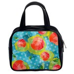 Red Cherries Classic Handbags (2 Sides) Front