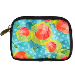 Red Cherries Digital Camera Cases by DanaeStudio
