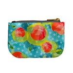 Red Cherries Mini Coin Purses Back