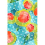 Red Cherries 5.5  x 8.5  Notebooks Back Cover