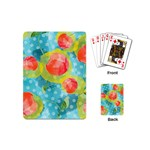 Red Cherries Playing Cards (Mini)  Back