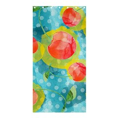 Red Cherries Shower Curtain 36  X 72  (stall)  by DanaeStudio