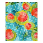 Red Cherries Shower Curtain 60  x 72  (Medium)  54.25 x65.71 Curtain