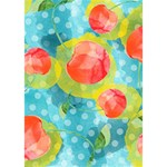 Red Cherries TAKE CARE 3D Greeting Card (7x5) Inside