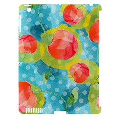 Red Cherries Apple Ipad 3/4 Hardshell Case (compatible With Smart Cover) by DanaeStudio