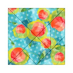 Red Cherries Acrylic Tangram Puzzle (6  X 6 ) by DanaeStudio