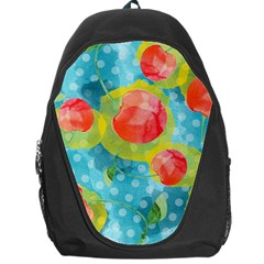 Red Cherries Backpack Bag by DanaeStudio