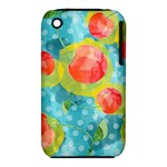 Red Cherries Apple iPhone 3G/3GS Hardshell Case (PC+Silicone)