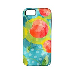 Red Cherries Apple Iphone 5 Classic Hardshell Case (pc+silicone) by DanaeStudio