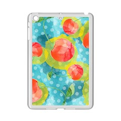 Red Cherries Ipad Mini 2 Enamel Coated Cases by DanaeStudio
