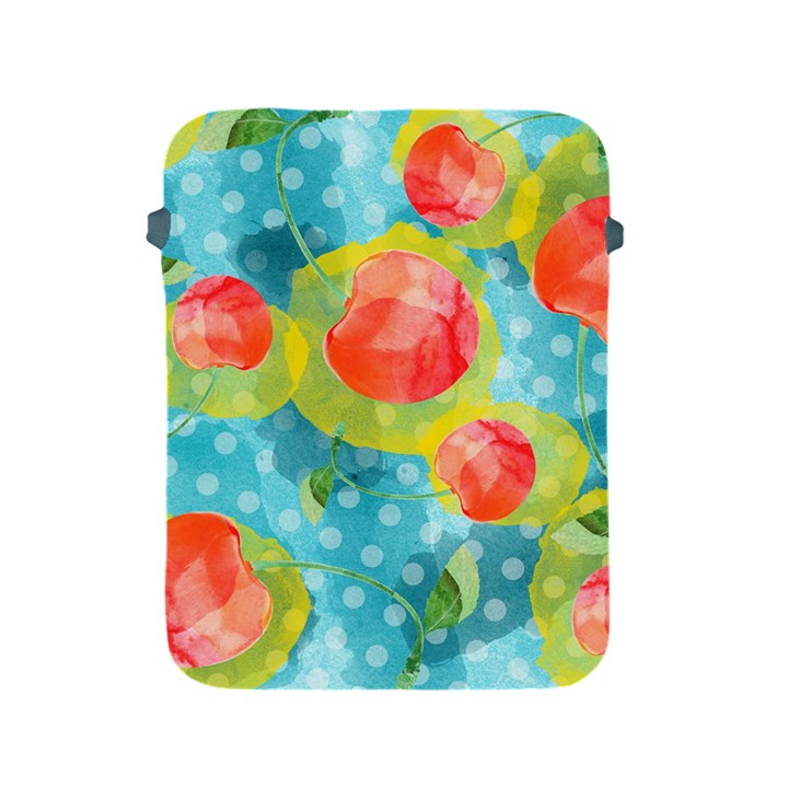 Red Cherries Apple iPad 2/3/4 Protective Soft Cases