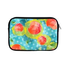 Red Cherries Apple Ipad Mini Zipper Cases by DanaeStudio