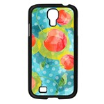 Red Cherries Samsung Galaxy S4 I9500/ I9505 Case (Black) Front