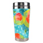 Red Cherries Stainless Steel Travel Tumblers Left