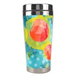 Red Cherries Stainless Steel Travel Tumblers Center