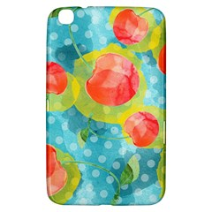 Red Cherries Samsung Galaxy Tab 3 (8 ) T3100 Hardshell Case  by DanaeStudio