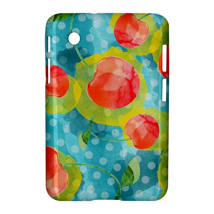 Red Cherries Samsung Galaxy Tab 2 (7 ) P3100 Hardshell Case