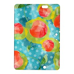 Red Cherries Kindle Fire Hdx 8 9  Hardshell Case by DanaeStudio