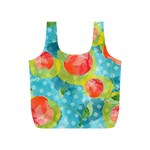 Red Cherries Full Print Recycle Bags (S)  Front