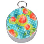 Red Cherries Silver Compasses Front