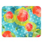 Red Cherries Double Sided Flano Blanket (Large)  80 x60 Blanket Front