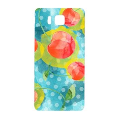 Red Cherries Samsung Galaxy Alpha Hardshell Back Case by DanaeStudio