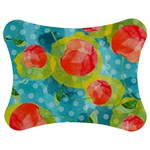 Red Cherries Jigsaw Puzzle Photo Stand (Bow)