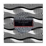 Sometimes Quiet Is Violent Twenty One Pilots The Meaning Of Blurryface Album Tile Coasters