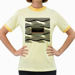 Sometimes Quiet Is Violent Twenty One Pilots The Meaning Of Blurryface Album Women s Fitted Ringer T Shirts by Onesevenart