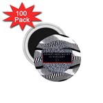 Sometimes Quiet Is Violent Twenty One Pilots The Meaning Of Blurryface Album 1.75  Magnets (100 pack)