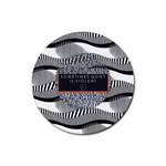 Sometimes Quiet Is Violent Twenty One Pilots The Meaning Of Blurryface Album Rubber Round Coaster (4 pack)