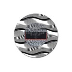 Sometimes Quiet Is Violent Twenty One Pilots The Meaning Of Blurryface Album Magnet 3  (Round)