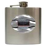 Sometimes Quiet Is Violent Twenty One Pilots The Meaning Of Blurryface Album Hip Flask (6 oz)