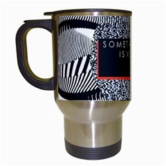 Sometimes Quiet Is Violent Twenty One Pilots The Meaning Of Blurryface Album Travel Mugs (white) by Onesevenart