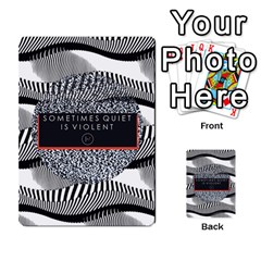 Sometimes Quiet Is Violent Twenty One Pilots The Meaning Of Blurryface Album Multi Purpose Cards (rectangle)  by Onesevenart