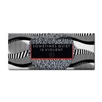 Sometimes Quiet Is Violent Twenty One Pilots The Meaning Of Blurryface Album Hand Towel