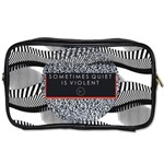 Sometimes Quiet Is Violent Twenty One Pilots The Meaning Of Blurryface Album Toiletries Bags 2-Side