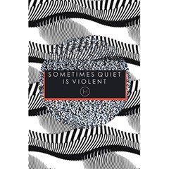 Sometimes Quiet Is Violent Twenty One Pilots The Meaning Of Blurryface Album 5 5  X 8 5  Notebooks by Onesevenart