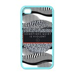 Sometimes Quiet Is Violent Twenty One Pilots The Meaning Of Blurryface Album Apple iPhone 4 Case (Color)