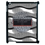 Sometimes Quiet Is Violent Twenty One Pilots The Meaning Of Blurryface Album Apple iPad 2 Case (Black)