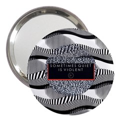Sometimes Quiet Is Violent Twenty One Pilots The Meaning Of Blurryface Album 3  Handbag Mirrors by Onesevenart