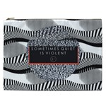 Sometimes Quiet Is Violent Twenty One Pilots The Meaning Of Blurryface Album Cosmetic Bag (XXL)