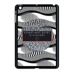 Sometimes Quiet Is Violent Twenty One Pilots The Meaning Of Blurryface Album Apple iPad Mini Case (Black)